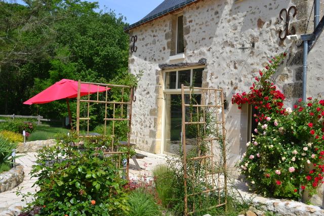 Chambre hote et gite rural ecologique proche tours a azay - Chambre d hotes azay le rideau ...
